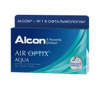 Контактные линзы Air Optix Aqua (1 шт.)