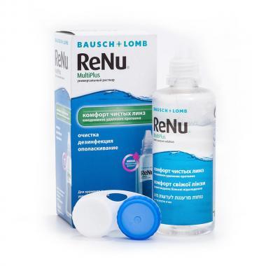 Раствор для линз ReNu MultiPlus КА8474-125